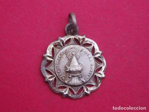 Medalla Antigua Virgen de Sancho Abarca. Tauste. Zaragoza.