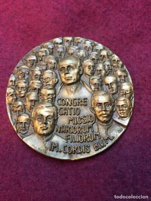 Medalla bronce canonización mártires claretianos