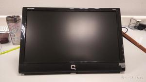 """Monitor ordenador Compaq 18"""" con altavoces"""