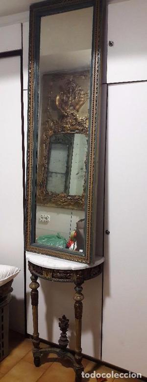 Pareja de Consolas y espejos