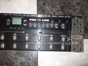 Pedalera line 6 x3 pod live + amplificador fender frontman