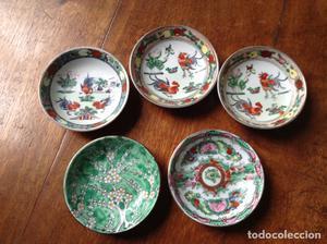Platos porcelana china Macau