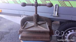 Prensa de libros en hierro fundido