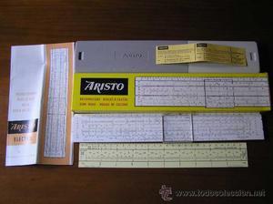 REGLA DE CALCULO ARISTO ELEKTRO 915 - CALCULADORA - SLIDE