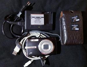 camara digital compacta olympus negra mod u