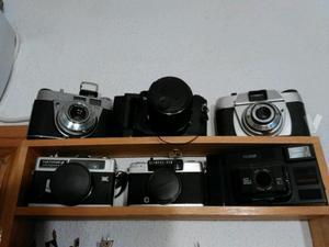 coleccion de camaras de fotos