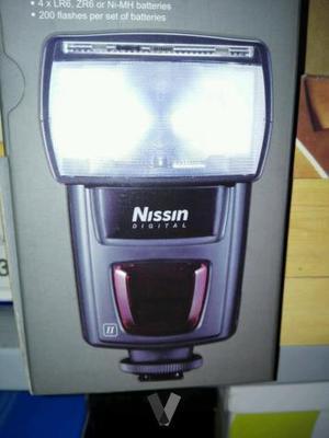 flash nissin di622 Nikon y sony