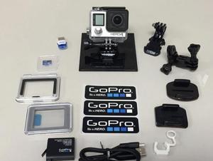 gopro 4 con accesorios como nueva