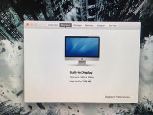 iMac 21'5 late