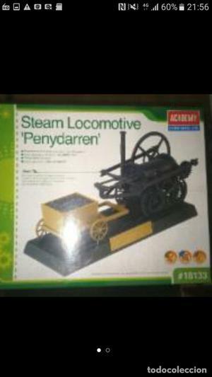kit plastico locomotora vapor