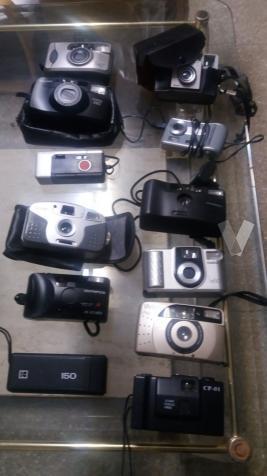 lote de 12 camaras fotograficas
