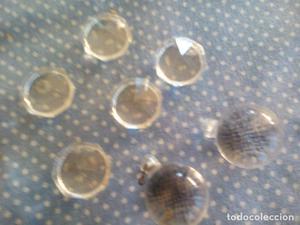 lote de cristales para lampara