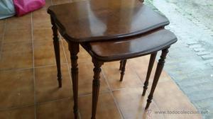 mesas de madera ver
