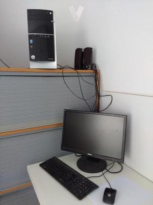 ordenador HP + lote muebles oficina/hogar