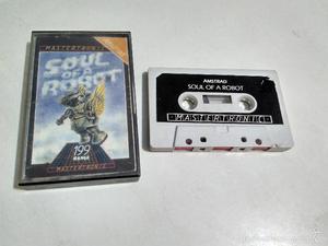 Amstrad cinta - Juego Soul of a Robot