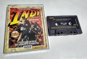 Amstrad cinta - Pack de juegos de Indiana Jones