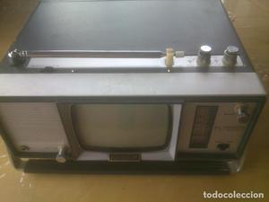 Antigua Televisión Radio Vintage Modelo Universum GERMANY