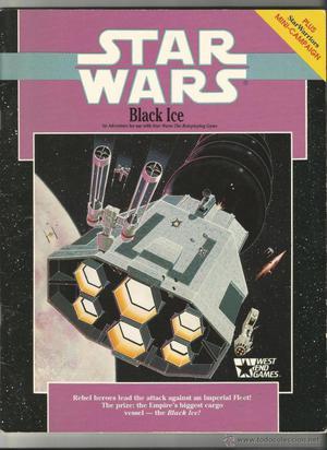 BLACK ICE-SUPLEMENTO PARA EL JUEGO DE ROL STAR WARS.