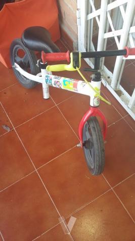 Bici de niño sin pedales