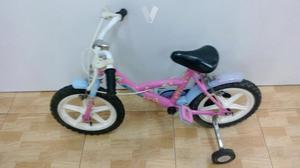 Bicicleta De Niña Princesas