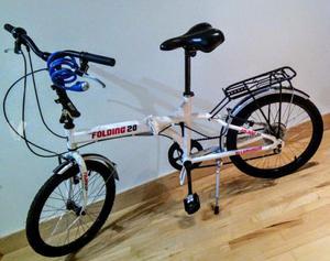 Bicicleta plegable en perfecto estado