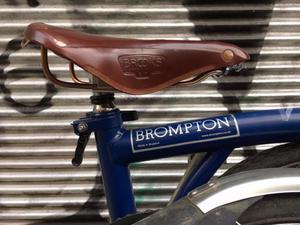 Brompton M6L azul