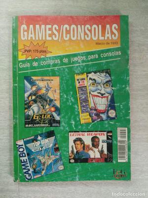 CATÁLOGO GAMES /CONSOLAS