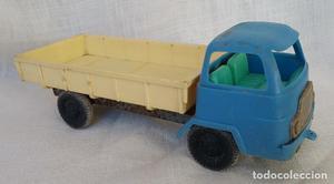 Camión Tipo Barreiros De Plástico Y Metal. De Los 70