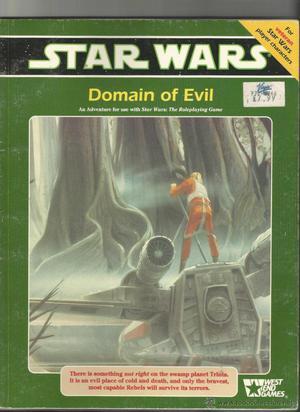 DOMAIN OF EVIL-SUPLEMENTO PARA EL JUEGO DE ROL STAR WARS.