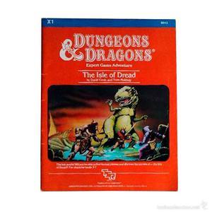 Dungeons & Dragons / Modulo de juego The Isle of Dread Set 2