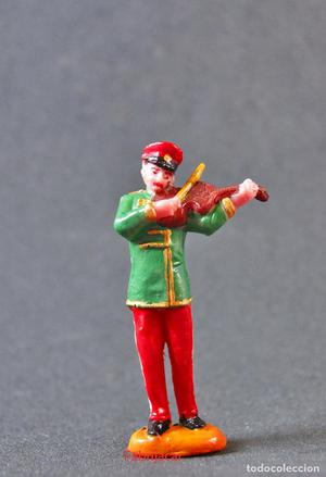 Figura musico violin del circo