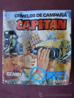 GEMELOS DE CAMPAÑA CAPITAN - OPTIC'S PEDRET