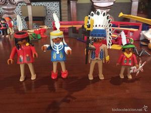 Gran Lote Playmobil Indio. Referencias Antiguas!!