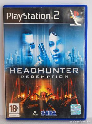 HEADHUNTER REDEMPTION DE SEGA DE PLAYSTATION 2 PS2 PSX PLAY