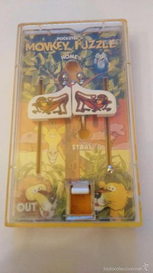 JUEGO DE BOLSILLO - juegos de bolsillo MONKEY PUZZLE -TOMY