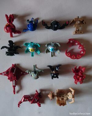 Lote 14 figuras de acción Transformers (geometricas)