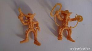 Lote 2 figuras de Lucky Luke de PVC