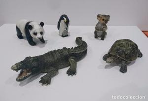 Lote 5 figuras SCHLEICH de animales