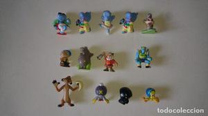 Lote de 13 figuras varias Kinder, MPG, Disney, otras.