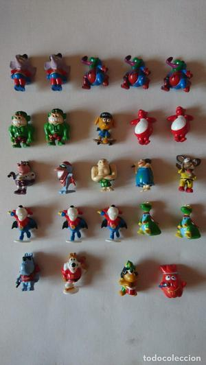 Lote de 24 figuras Kinder - Mon desir