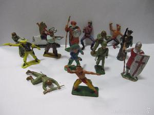Lote de Muñecos,Figuritas,originales,Soldaditos,es el lote