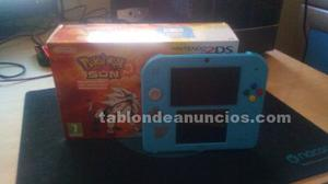 Nintendo 2ds - edición pokémon sol