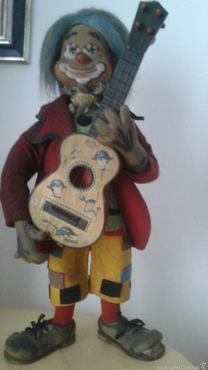 Original Payaso Guitarrista Año 60 Guitarra Bernabeu