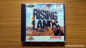 PC CD-ROM: RISING LANDS de MICROIDS - WINDOWS 95