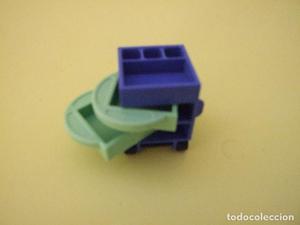 Playmobil Carrito con bandejas, mueble auxiliar