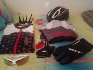 Ropa y complementos ciclismo BH y Decathlon