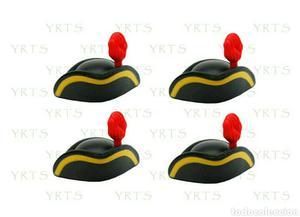 YRTS Playmobil  Lote 4 Gorros Franja Amarilla Soldados