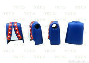 YRTS Playmobil  Lote 4 Torsos Azul y Blanco Soldados
