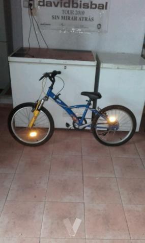bicicleta de niño-a con marchas