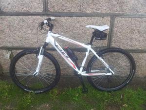 bicicleta montaña bh blanca